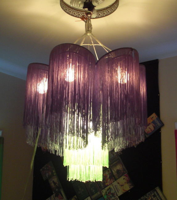 Tchow furnishings a string lamp chandelier aloadofball Choice Image